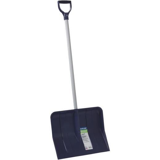 Rugg 18 In. Poly Snow Shovel with 35 In. Steel Handle